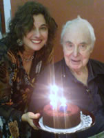 Eric Bentley and Karyn Levitt 97th Birthday Celebration